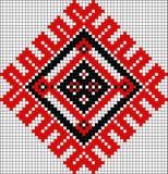 Rumuński popularny wzór Zdjęcie Stock
