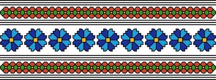 Rumuński popularny wzór Zdjęcie Royalty Free