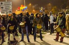 Rumuński protest 05/11/2015 Zdjęcie Stock
