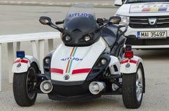 Rumuński samochód policyjny Zdjęcie Royalty Free