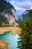 Rumunia Bolboci jezioro i Tatarului wąwóz Obrazy Royalty Free