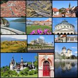 Rumunia kolaż Fotografia Royalty Free
