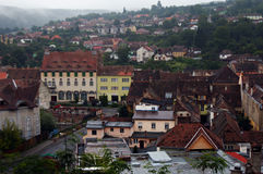 Rumunia, Sighisoara widok Zdjęcia Royalty Free
