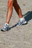 Run on the beach Stock Photos