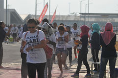 Run competition in Indonesia Stock Photography