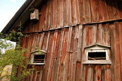 Run down barn Royalty Free Stock Image