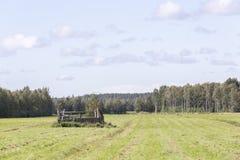 Run Down Barn Stock Photo