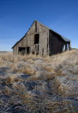 Run down barn on the Palouse. Stock Photo