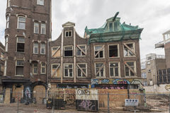 Run down buildings in Amsterdam Stock Images