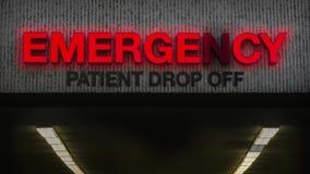 Free Run-Down Emergency Room Royalty Free Stock Photos - 167231758