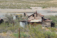 Run down farm buildings, New Mexico Stock Image