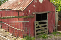 A Run Down Farm Shed Royalty Free Stock Photography