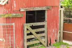 A Run Down Farm Shed Stock Images