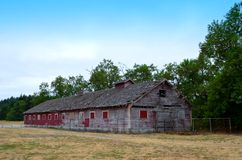 Run Down Horse barn Royalty Free Stock Photos