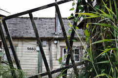 Run down house. Dilapidated run down house in need of repairs Stock Photos