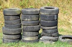 Run down tires Royalty Free Stock Image
