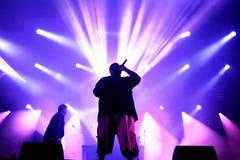 Run the Jewels (hip hop band) performs at Primavera Sound 2015 Stock Photos