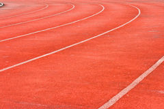 Run lane. For funny game and sport Royalty Free Stock Images