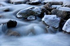Run of mountain river Royalty Free Stock Photo