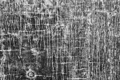 Run off walls. Unique textured, cracked abstract art like wall in black and white - great background Stock Photos