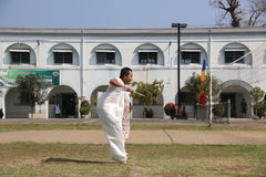 RUN SACKS. Inmates with a sack race to celebrate the independence of the Republic of Indonesia, to 70 years in prison Ambara, Semarang regency, Central Java Stock Photography