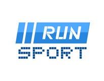 Run sport symbol. Design of run sport symbol Royalty Free Stock Photos