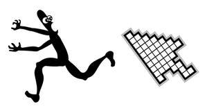 Run of tecnology. Creative design of run of tecnology Royalty Free Stock Photos
