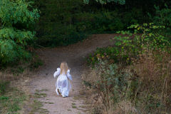 Run to home Royalty Free Stock Photography