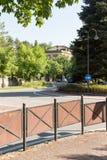 Run to the park. Salsomaggiore Italy Stock Photos