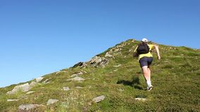 Run uphill Stock Photography