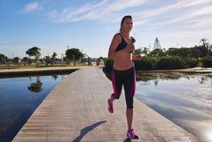 Run woman Stock Image
