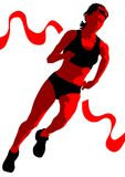 Run Women Stock Images