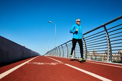 Run workout Royalty Free Stock Image
