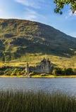 Ruína do castelo de Kilchurn em Escócia Fotografia de Stock
