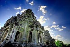 Ruínas cambojanas do templo Imagens de Stock