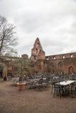 Ruínas do castelo de Limburgo Fotografia de Stock Royalty Free