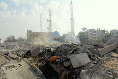 Ruínas do khadra de Abu Imagens de Stock