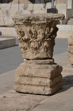 Ruínas em Amman Jordan Amphitheatre Foto de Stock Royalty Free