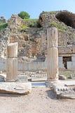 Ruínas em Ephesus, Turquia Foto de Stock