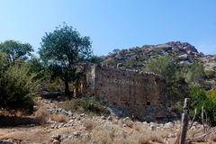 Ruínas, Lissos, Creta Grécia Foto de Stock Royalty Free