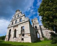Ruínas velhas do castelo Fotos de Stock Royalty Free