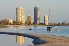 Runaway Bay Gold Coast Royalty Free Stock Photo