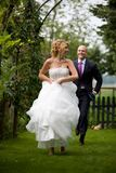 Runaway bride Royalty Free Stock Photography