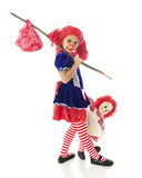 Runaway Rag Dolls Stock Images