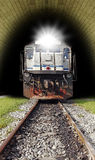 Runaway train Stock Photo