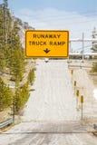 Runaway Truck Ramp Royalty Free Stock Photos