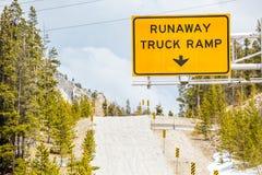Runaway Truck Ramp Royalty Free Stock Photo