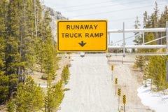 Runaway Truck Ramp Royalty Free Stock Image