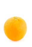 Rund apelsin med peelen Arkivfoton