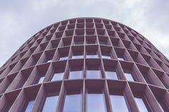 Rund byggnad Arkivfoto